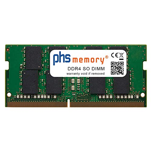 PHS-memory 16GB RAM módulo para HP Envy 17-bw0001ns DDR4 SO DIMM 2400MHz
