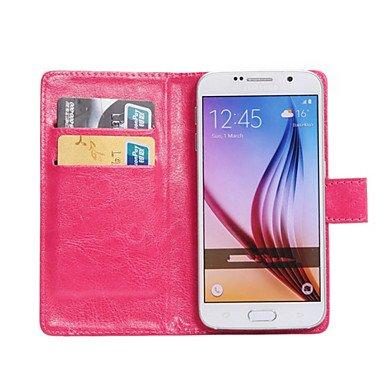 Handy schützen, 360-Grad-Flip PU-Leder-Telefonkasten Geldbeutel businiss für Galaxie Grand max/Fame lite/Kern Mini/Kern 2 / ace 4 / e5 für Samsung