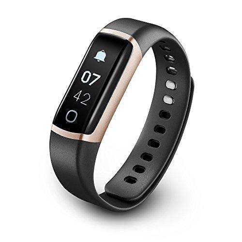 TicBand, monitoraggio fitness, monitoraggio dell'attività 24/7 con cardiofrequenzimetro, monitoraggio automatico del sonno