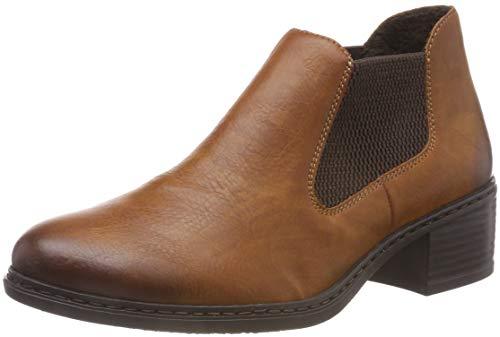 Rieker Damen 57690 Chelsea Boots, Braun (Cayenne/Brown 24), 37 EU