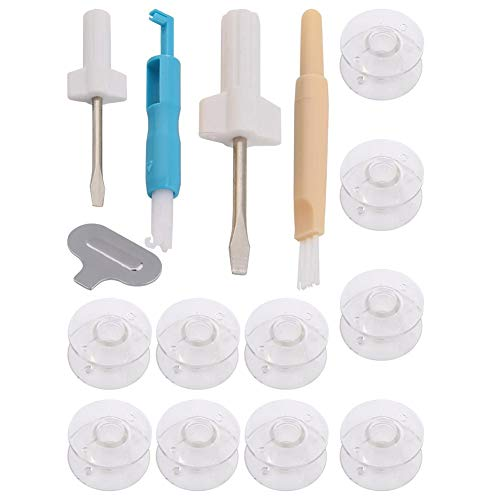 Save %10 Now! wosume Sewing Machine Accessories, Sewing Machine Tools Set Threader S-huttle Core+Needle Inserter+Screwdriver
