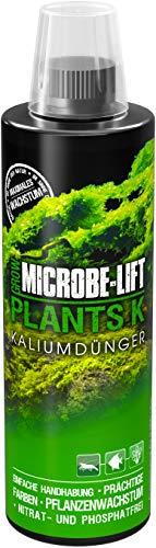 MICROBE-LIFT Plants K – Flüssiger Kalium-Dünger für Aquarium Pflanzen, hochkonzentriert, 473ml