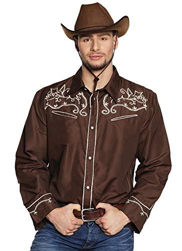 Boland 54333 Western - Camiseta (Talla L), Color marrón