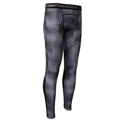 Nvfshreu Mannen Compressie Broek Leggings Sport Fitness Broek Panty Lange Panty Eenvoudige Stijl Onderbroek Onder Warm T Shirt Ze Pantyhose Mannen Leggings Broek