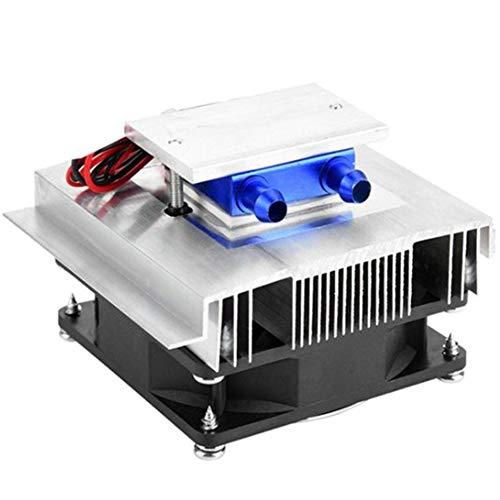 Gfhrisyty Raffreddatore di Refrigerazione Peltier Termoelettrico da 50 W di Raffreddamento del Condizionatore d'Aria Un Semiconduttore Kit di Raffreddamento Peltier