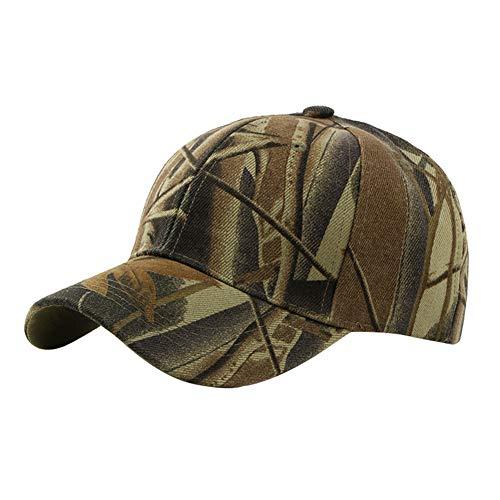 Fablcrew 1Pcs Casquette de Camouflage de Style Militaire Casquette de Baseball Chasse Pêche Activités de Plein Air pour Hommes Femme