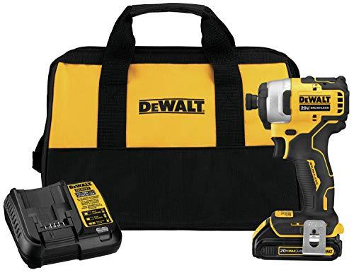 DEWALT ATOMIC 20V MAX Impact Driver Kit (DCF809C1)