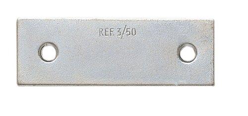 111D12-17 - Placa Cartela Zinc 40X15 Mm 4Uds E