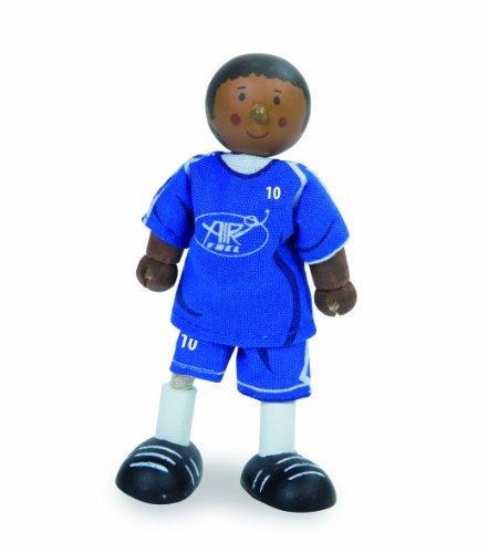 Le Toy Van - 21990 - Figurine - Footballeur 1 - N°10 - Bleu