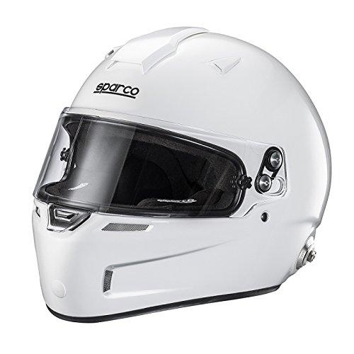 Sparco 0033452M Helm Rf-5W Air Pro Kevlar/Fiberglas Fia Tg. M Weiß, M