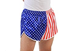 Flag Running Shorts