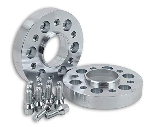 Hofmann Spurverbreiterung Aluminium 30mm pro Scheibe / 60mm pro Achse inkl. TÜV-Teilegutachten~
