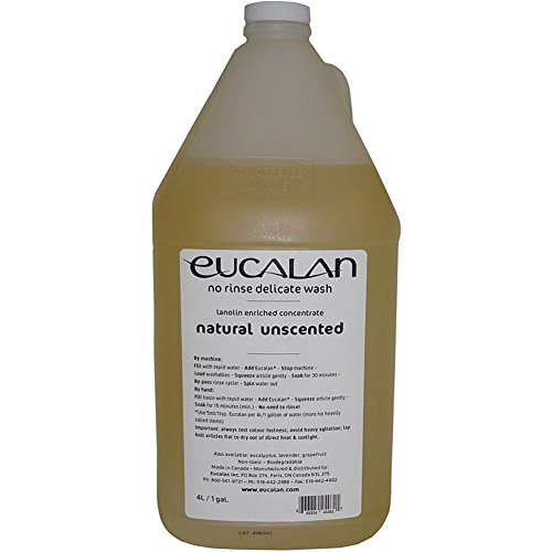 Eucalan Delicate Wash Natural Unscented Jug