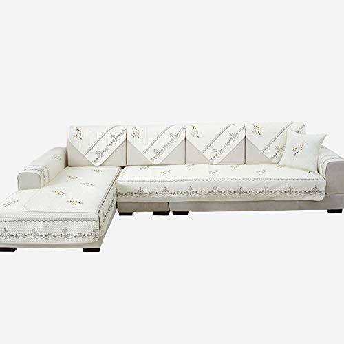 Hybad Furniture Protector Covers Hoekbank Furniture Protector Covers, Chaise longue Couch Slipcover, katoenen sofa kussensloop, sofa saver protector