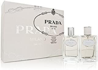 Prada Infusion D'Homme by Prada for Men 2 Piece Set Includes: 3.4 oz Eau de Toilette Spray + 3.4 oz After Shave Pour
