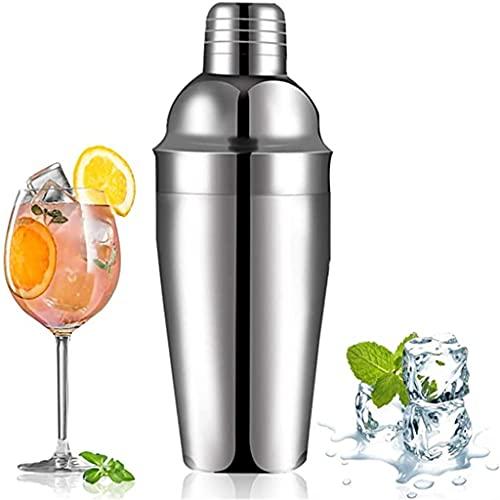 YUTRD ZCJUX Coctelera de Acero Inoxidable Shaker Sin Fugas Durable Bebida Grande Shaker Mixer Shaker Bottle Beber Party Bar Herramientas (Size : 750ml)