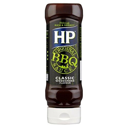 HP Sauce barbecue classique original Woodsmoke Saveur 8 x 465g