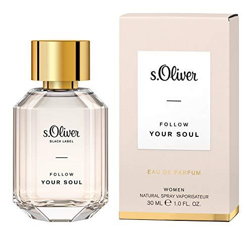s.Oliver® Follow Your Soul Women | Eau de Parfum - feminin & blumig - perfektes Accessoire für Damen mit stilvollem Auftritt | 30 ml Natural Spray