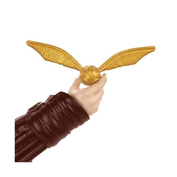 Harry Potter Muñeco Harry Quidditch, juguetes niños + 6 años (Mattel GDJ70) 5