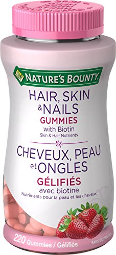 Nature's Bounty Optimal Solutions Hair, Skin and Nails Gummies 220 Count...