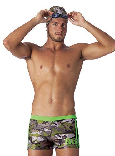 Okeo -ERCOLE- Costume Shorts Uomo per Il Nuoto_tg XXL