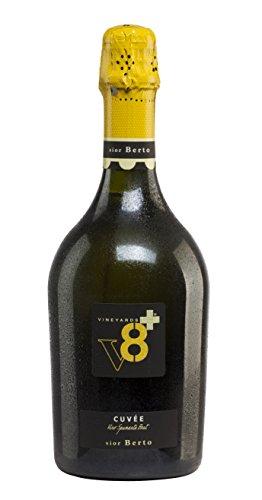 Sior Berto Vino Spumante Italiano Brut V8+ Spumanti e Champagne Vineyards 1 X 75