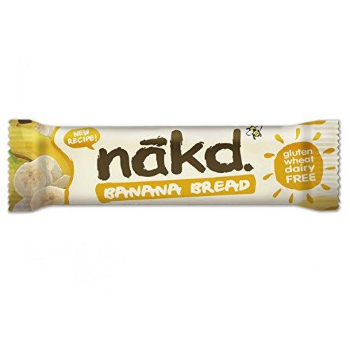 Nakd Multipack Cases of 24 Bars (Banana Bread)
