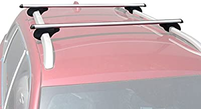BRIGHTLINES Cross Bars Roof Racks Compatible with 2002-2007 Jeep Liberty