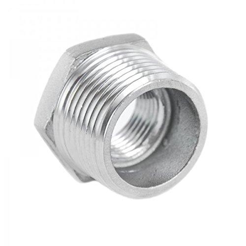 KI - Rosca reductora de acero inoxidable V4A, rosca exterior y rosca interior