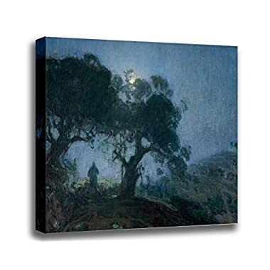 Canvas Print Wall Art - The Good Shepherd - Henry Ossawa Tanner - Giclee Printed on Stretched Gallery Wrap - 16x13 inch