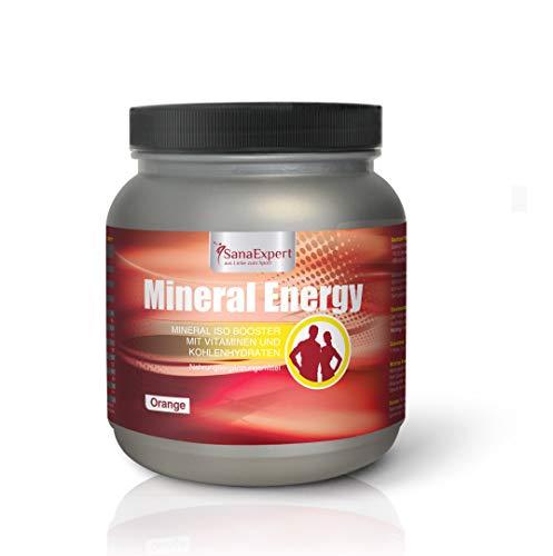 SanaExpert Mineral Energy, isotone sportdrank met elektrolyten, vitamines en mineralen, drinkpoeder, 1100g (1)
