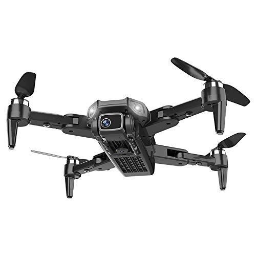 GPS Drone with 4K UHD Camera for Adults, 50x Zoom, 5G WiFi Live Video FPV RC Quadcopter, 1200M Long Control Range, 56 Mins Flight Time, Carrying Case and Two Batteries (Color : Black)