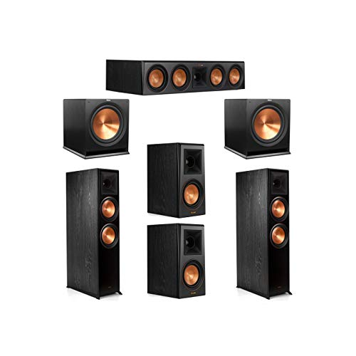 Buy Bargain Klipsch 5.2 System with 2 RP-8000F Floorstanding Speakers, 1 Klipsch RP-504C Center Spea...