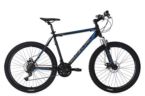 KS Cycling Sharp VTT Semi-Rigide Homme, Noir, 29'/74 cm