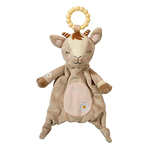 Douglas Baby Goat Teether Plush Stuffed Animal Toy