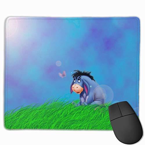 Eeyore in The Grass - Alfombrilla de ratón antideslizante con base de goma antideslizante para computadoras portátiles, para oficina, juegos y hogar