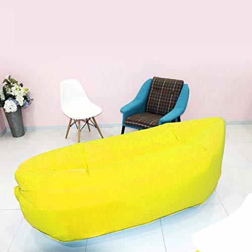 TLMYDD Campingstoel Opblaasbare ligstoel Buiten Draagbare Air Sofa Bag Vouwen Strand Gratis Air Bed luie bank