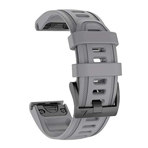 ISABAKE Fenix 6S Correa de Repuesto 20mm Correa de Reloj Deportivo de Quick-Fit Compatible con Garmin Fenix 5S / Fenix 5s Plus/Fenix 6S / D2 Delta S Correa Reloj