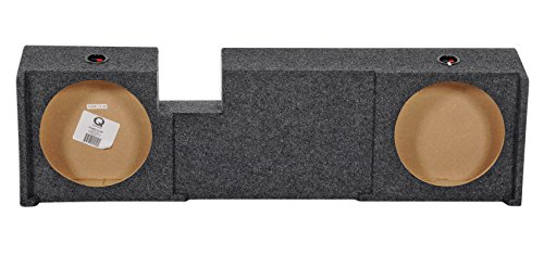 UnderSeat Downfire Dual 12' Subwoofer Sub Box for 2000-2003 Ford F150 Xcab