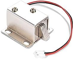 DC 12 V magnetventil elektromagnetiskt elektriskt lås brett använt dörrskåp låda åtkomstkontroll för skåp låda...