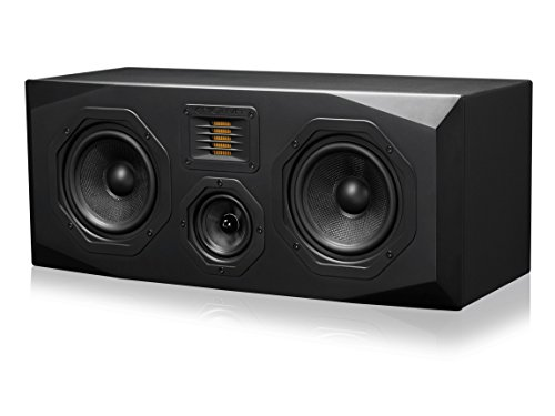 Emotiva Audio Surround Center Channel Home Speaker Set of 1 Black (C1)