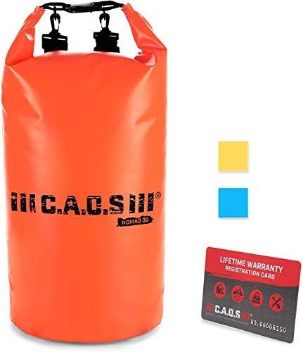 CAOS Waterproof Kayak Float Bag Lightweight PVC Orange 10L Camping Dry Bag Enjoy Outdoor Water product image