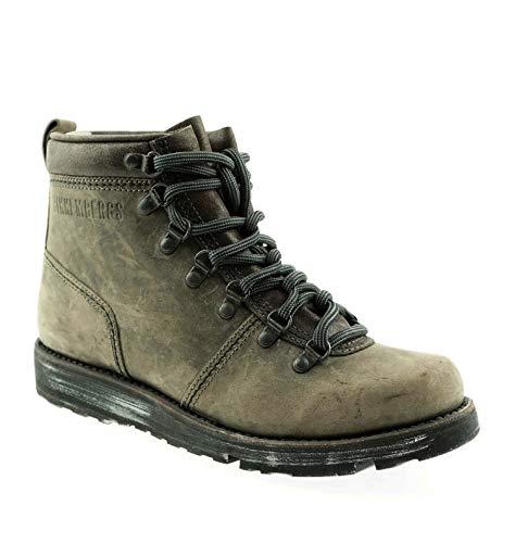 BIKKEMBERGS Herren Men Schuhe Shoes Stiefel Boots Brauntöne Leder Used Look (40 EU)