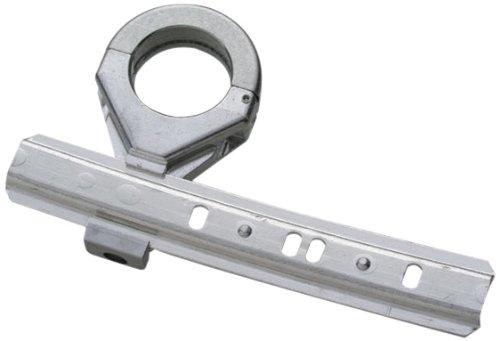 SCHWAIGER -UHA100X 041- LNB-Multifeed-Halterung | Erweiterung um 1 LNB für 2 Satelliten | Aluminium | grau, silber