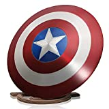 ZYER The Avengers Marvel Capitan America Costume Metal Shield Adult One Size 1: 1 Puntelli di Film