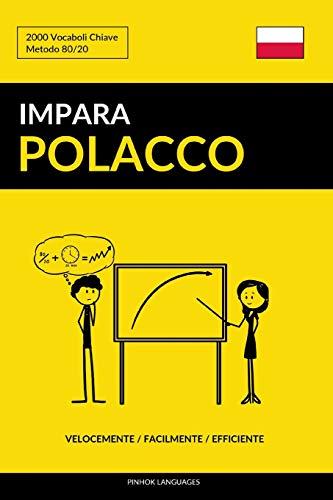 Impara il Polacco - Velocemente / Facilmente / Efficiente: 2000 Vocaboli Chiave