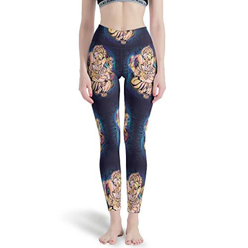 O5KFD & 8 dameslegging niet doorzichtig stretch en hoge taille broek voor sport lopen leggings dames kort -