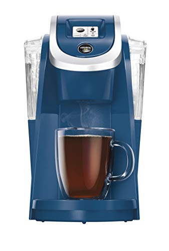 Keurig K200 Coffee Maker, Single Serve K-Cup Pod Coffee Brewer, With Strength Control, Denim (Renewed)