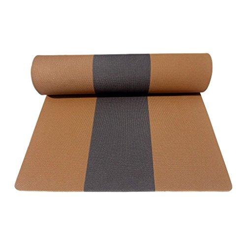 Gravolite 8MM Thickness, 2 Feet Wide Triple Layer Yoga Mat