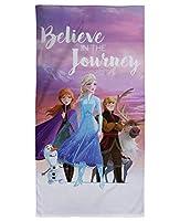 9197 アナと雪の女王 Disney frozen Beach Towel ビーチタオル バスタオル 140cm x 70cm [並行輸入品]